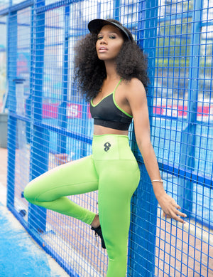 Bianca Lime Punch Leggings