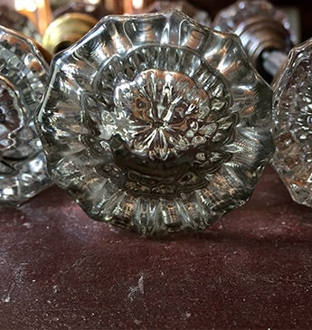 Glass or Crystal Passageway Doorknob