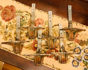 Antique Ice Birds Roofing Hardware Set of 6