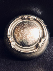 Sterling Silver Plated Knob
