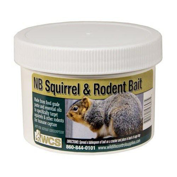 NB Squirrel & Rodent Bait (8oz)-Bait-Bug Clinic-Bug Clinic Bugclinic.com - Get rid of all your pests - Do it yourself pest control