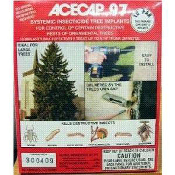 Acecap - 10 Pack-Bug Clinic- Bug Clinic - Do-It-Yourself Pest Control Supplies
