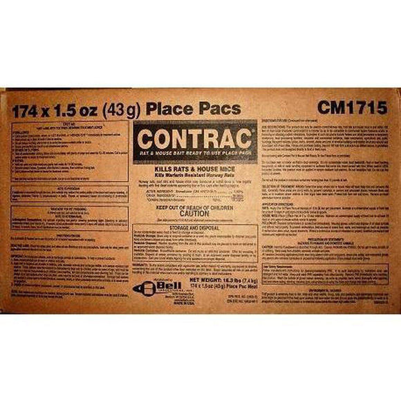 Contrac Meal Bait Pack (BULK)-Bug Clinic- Bug Clinic - Do-It-Yourself Pest Control Supplies
