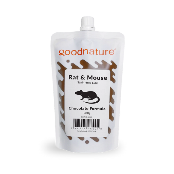 Goodnature Chocolate Pre-Feed Lure 200g-Goodnature-Bug Clinic Bugclinic.com - Get rid of all your pests - Do it yourself pest control