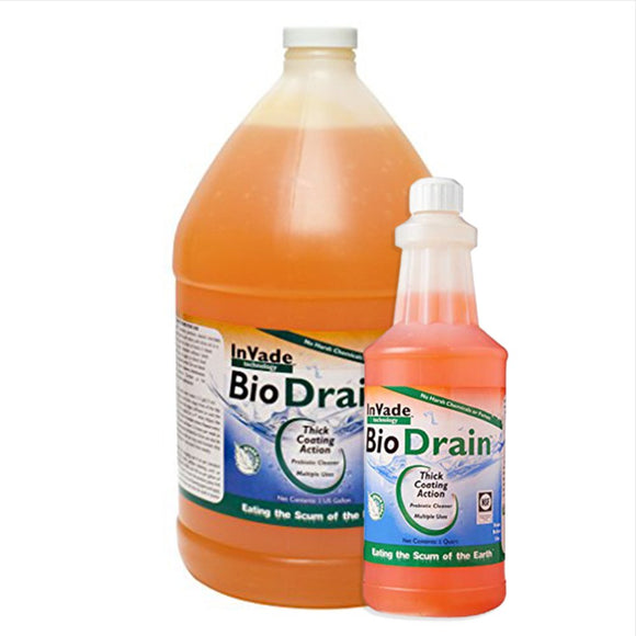 InVade Bio Drain-fruit flies-Rockwell Labs-Bug Clinic Bugclinic.com - Get rid of all your pests - Do it yourself pest control