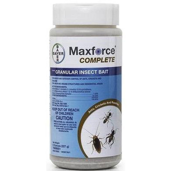 Maxforce Complete-Granular Bait-Bug Clinic-Bug Clinic Bugclinic.com - Get rid of all your pests - Do it yourself pest control