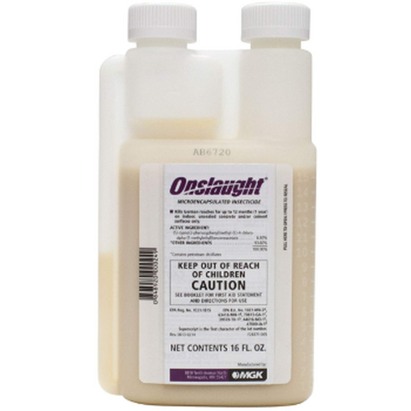 Onslaught Insecticide - Micro-Encapsulated Liquid-Insecticide-bugclinic- Bug Clinic - Do-It-Yourself Pest Control Supplies