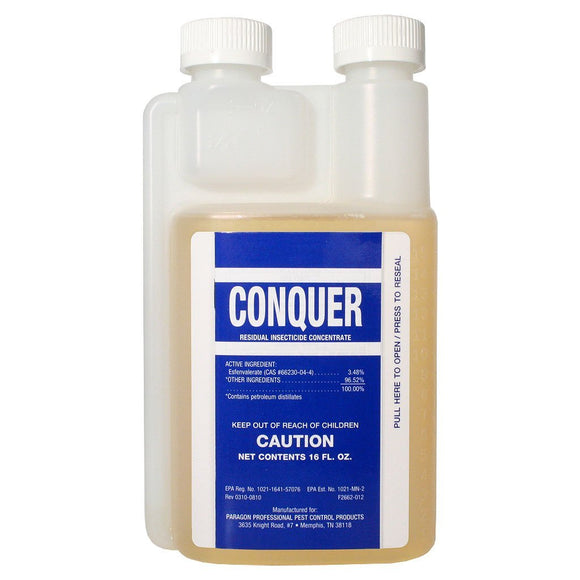Paragon Conquer - residual insecticide concentrate,16 FL.OZ by Conquer-liquid-bugclinic- Bug Clinic - Do-It-Yourself Pest Control Supplies