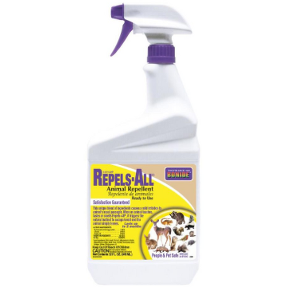 Bonide Repels All Animal Repellent-Repellent-bugclinic-Bug Clinic Bugclinic.com - Get rid of all your pests - Do it yourself pest control