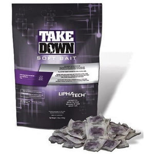 Take Down Soft Bait Rodenticide 4 lb Bag-Mice/Rat Poison-Lipha Tech-Bug Clinic Bugclinic.com - Get rid of all your pests - Do it yourself pest control