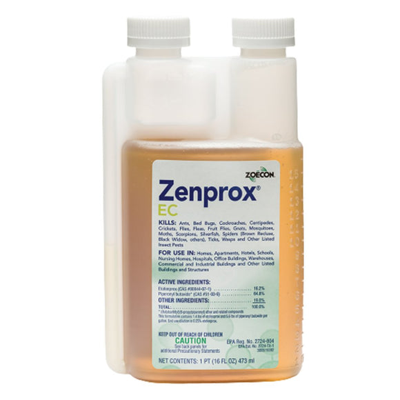 Zenprox EC-Insecticide-Zoecon-Bug Clinic Bugclinic.com - Get rid of all your pests - Do it yourself pest control