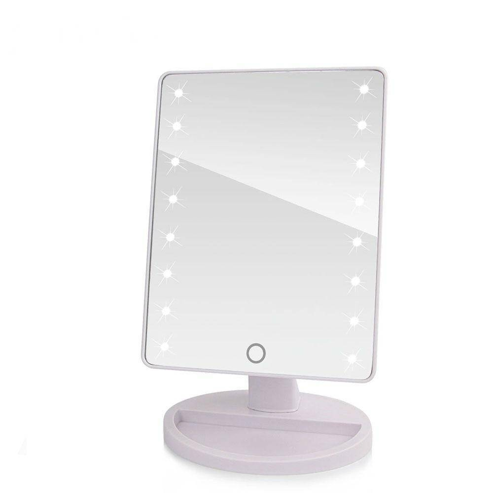 Abody Make Up Rechargeable Led Cosmetic Makeup Mirror Portable Touch Screen Night Light Table Lamp Mirrors ships From United States Makeup Mirrors
