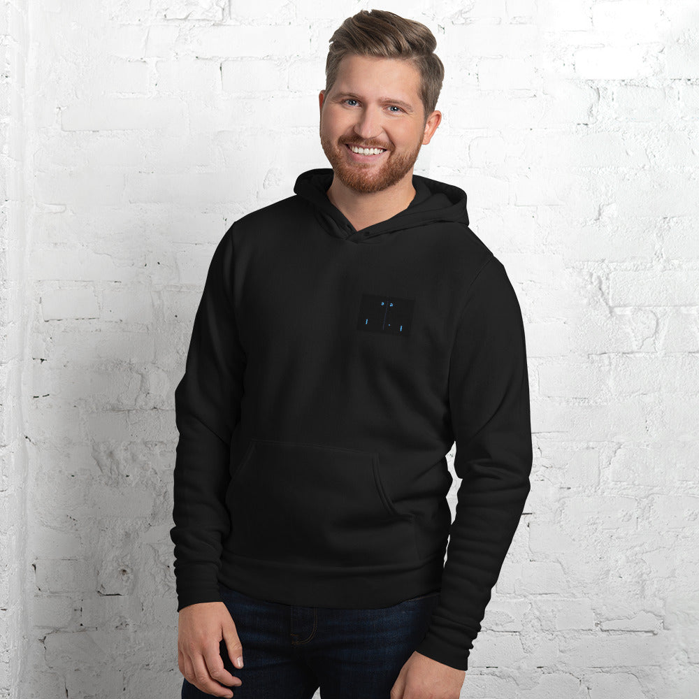 Ditch the Digital PONG Unisex hoodie