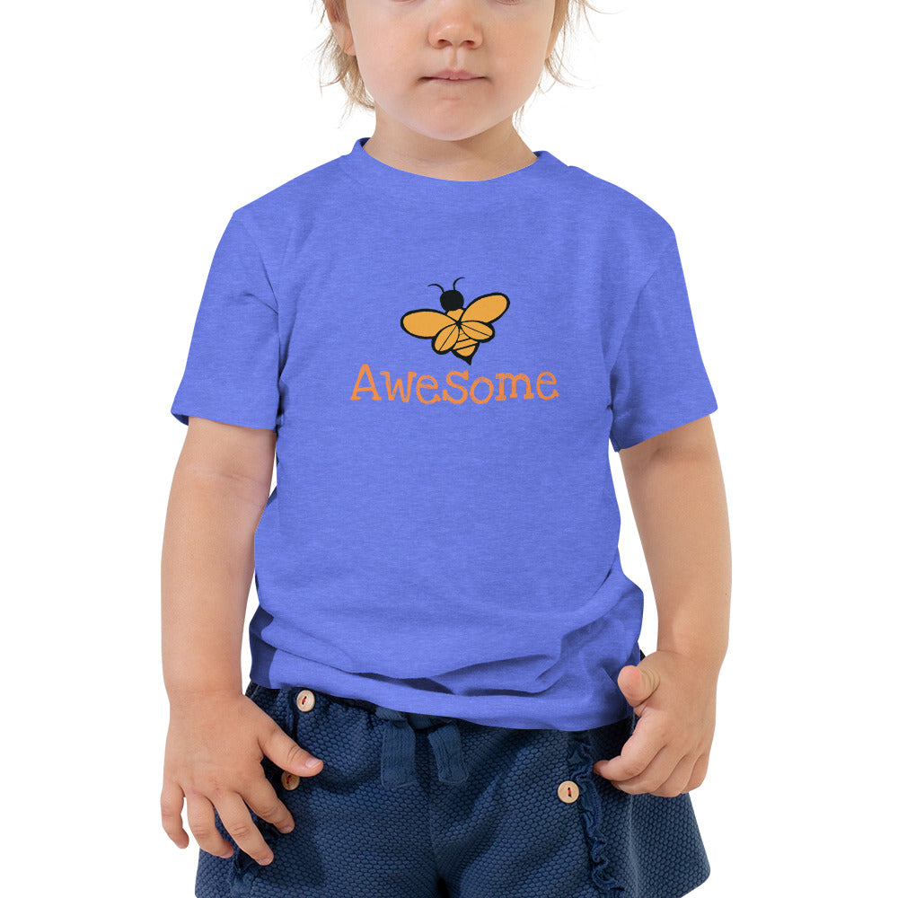 BEE Awesome Toddler Short Sleeve Tee