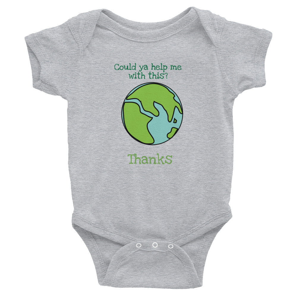 Could ya help me earth friendly baby body suit