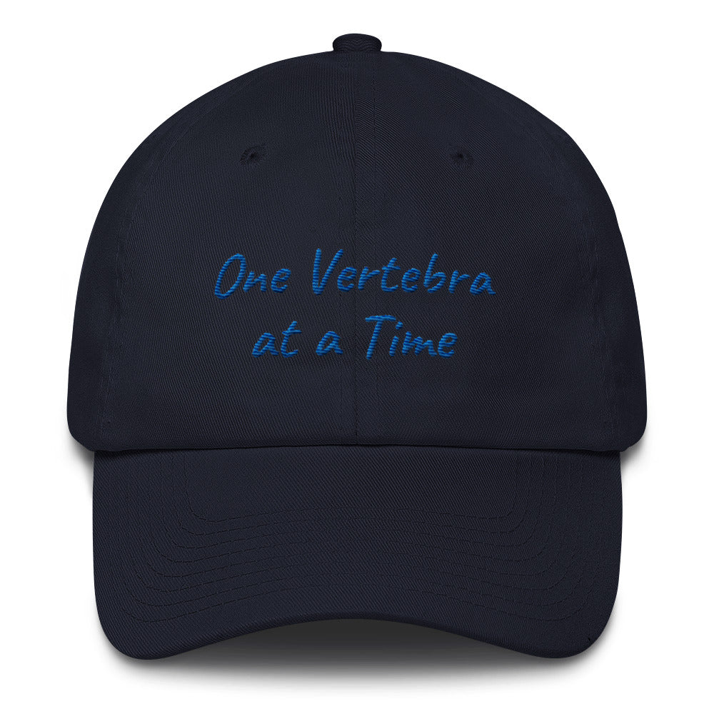 One Vertebra At a Time Cap