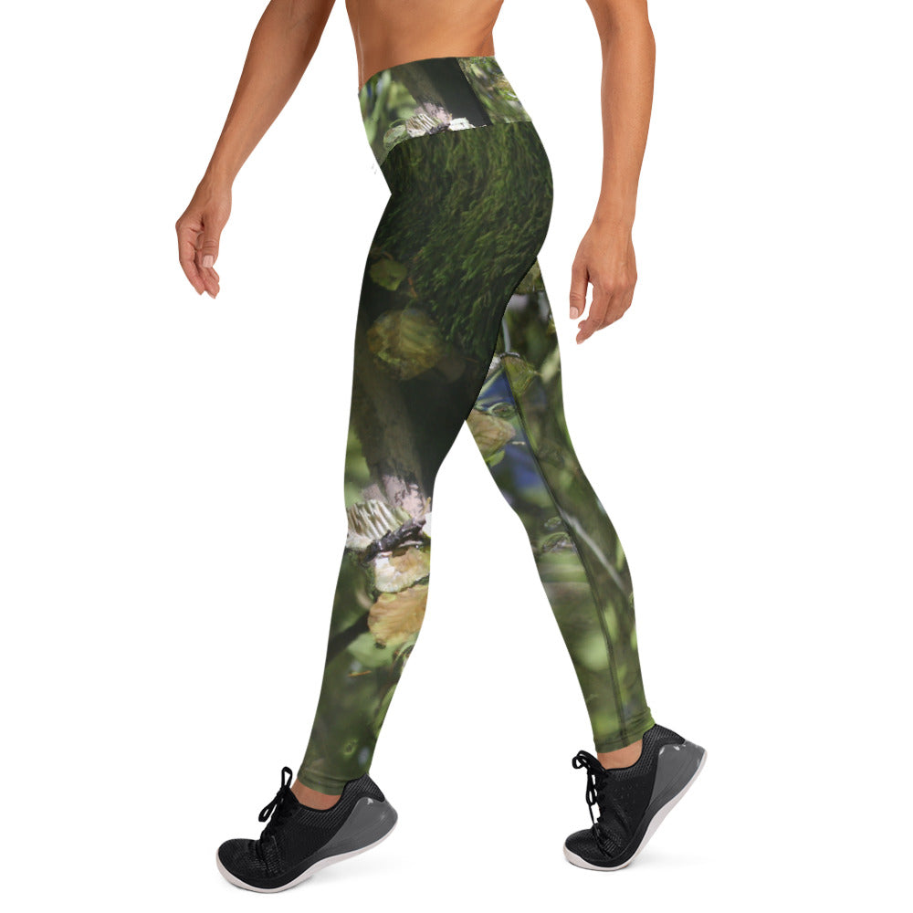 Abstracted River Leggings