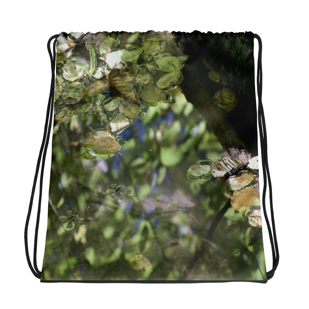 River Drawstring bag