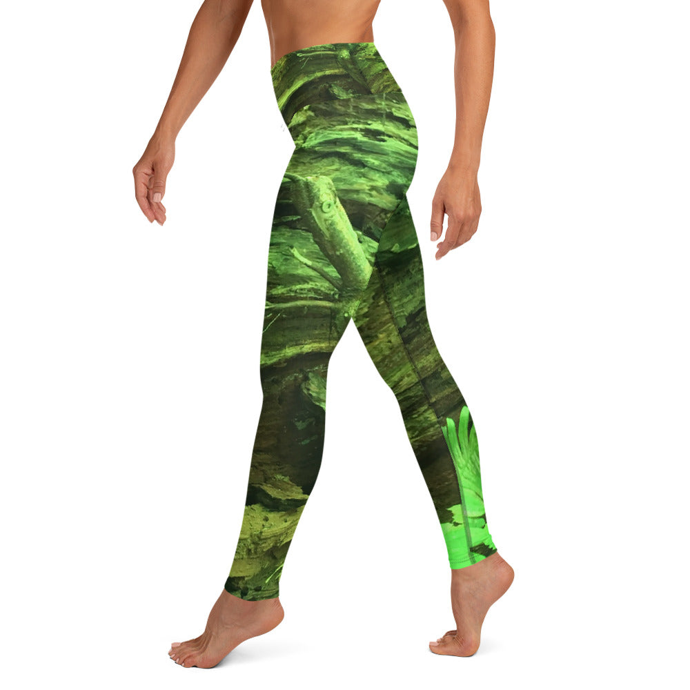 Deep Green Forest Leggings