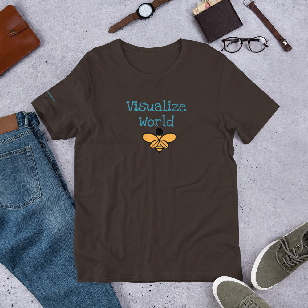 Visualize World Bees T Shirt