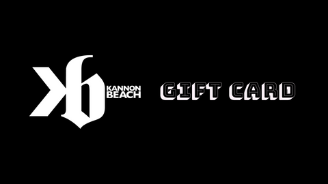 Kannon Beach - Gift Card