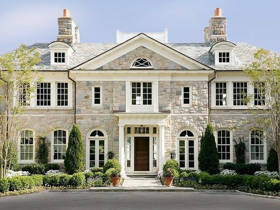 Designing a Colonial Classic Stone Exterior