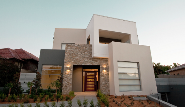 Natural Stone Facade For House Exterior
