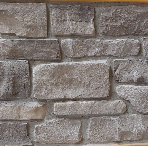 Brown Limestone Ledgerock Thin Veneer - Tumbled - Flats