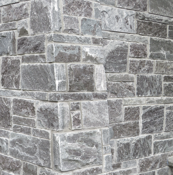 Elite Blue Granite Split Face Sawn Height - Building Stone