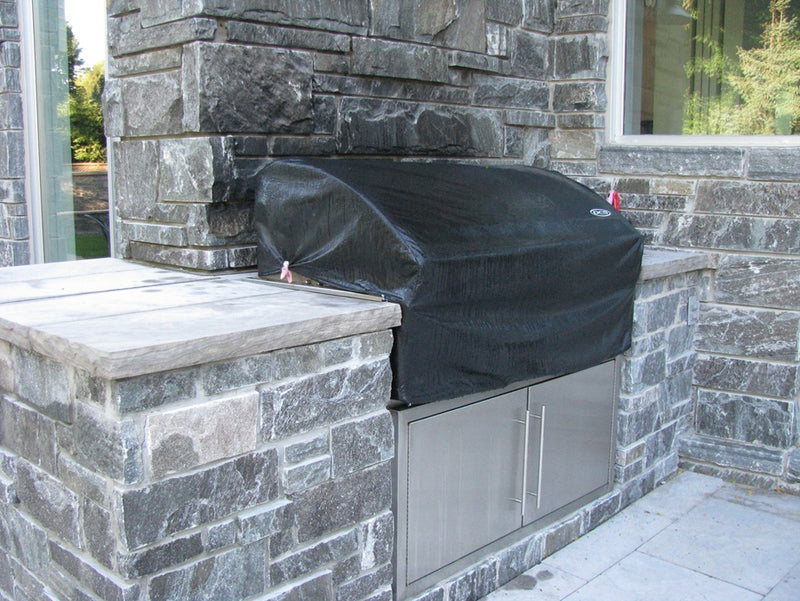 Elite Blue Granite Sawn Height Split Face Bed - Building Stone