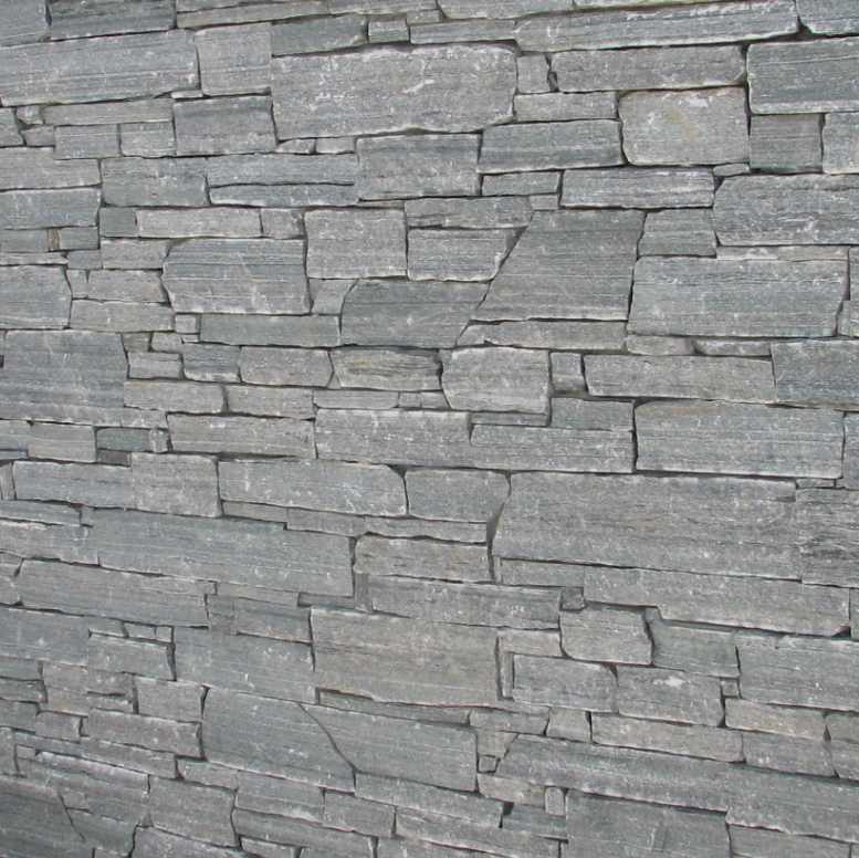 Elite Blue Granite Drystack Ledgerock Thin Veneer - Flats