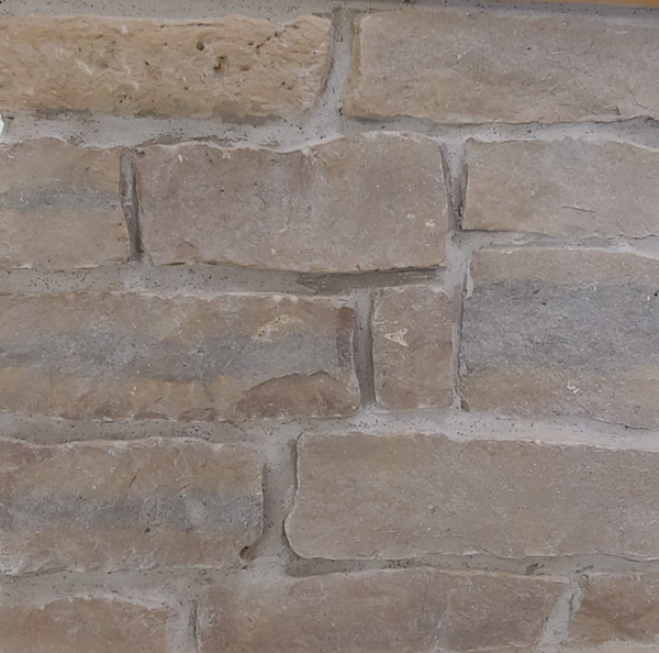 Harvest Gold Limestone Ledgerock Thin Veneer - Corners