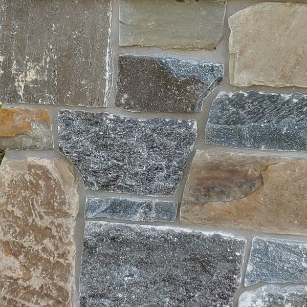 Jake & Cheryl's Custom Blend - Thin Stone Veneer - Corners