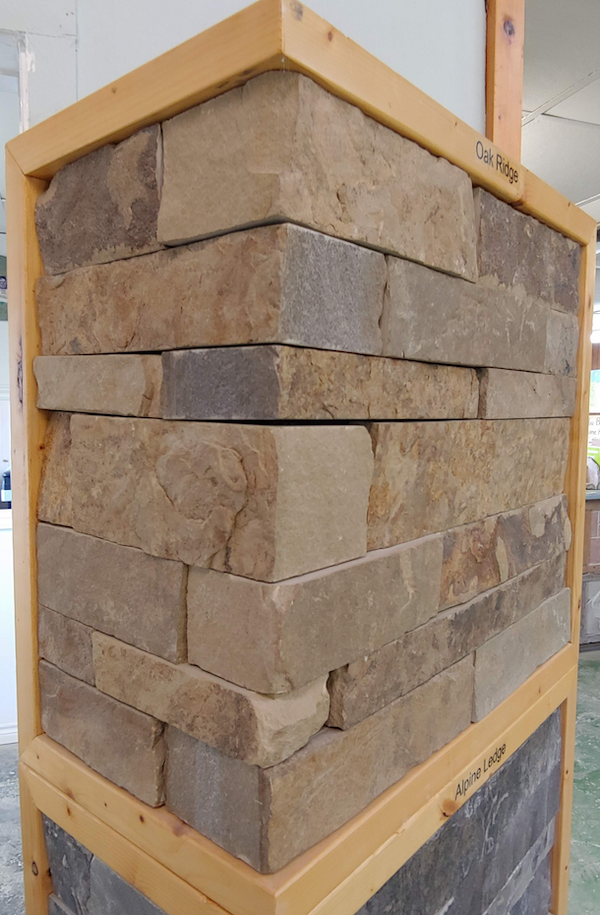 Oak Ridge Drystack Thin Veneer - Flats