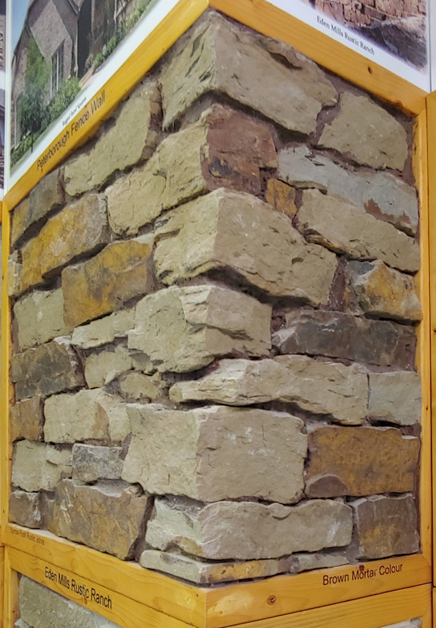 Peterborough Fence Wall - Earth Tone Blend - Building Stone