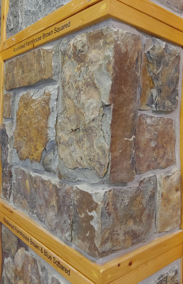 Rockwood Farmhouse Brown Thin Veneer - Squared - Corners