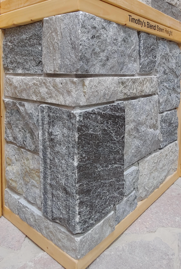 Timothy's Blend Sawn Height Drystack - Thin Stone Veneer - Flats