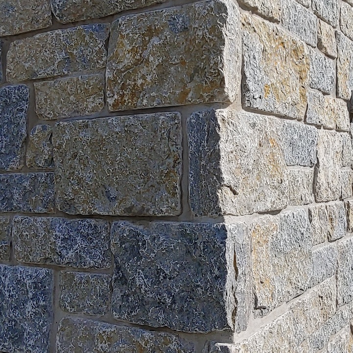 Weatheredge Limestone Bed Face - Split Face Sawn Height Tumbled - Building Stone