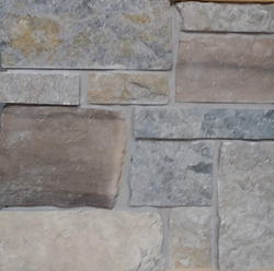 "Weatheredge Limestone Thin Veneer - Sawn Height (2 1/4"", 5"", 7 3/4"", 10 1/2"") - Flats"