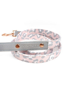 """Blush Leopard"" City Leash"