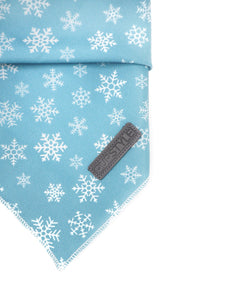 White Christmas Tie-Up Bandana