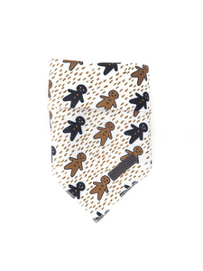 Ginger Pup Christmas Tie-Up Bandana