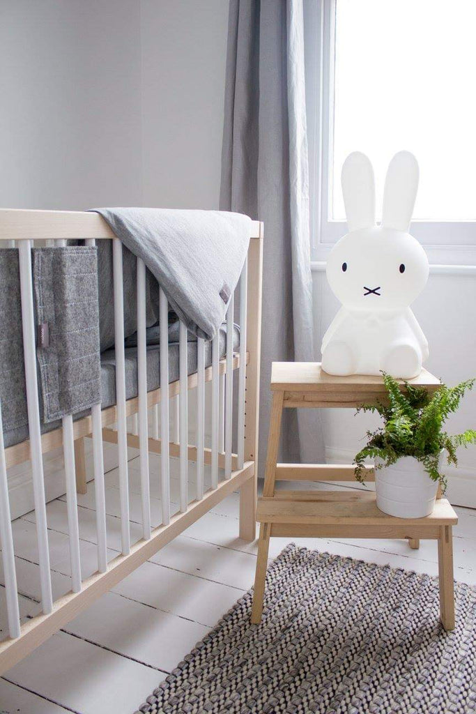 Scandinavian style nursery with Scandi children's lamp. Otis and The Wolf bringing you scandi inspired design for babies and toddlers and the modern nursery