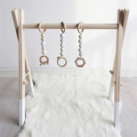 Scandi style play gym for scandi style nursery - Otis and the wolf - get the scandi look for your little one for less