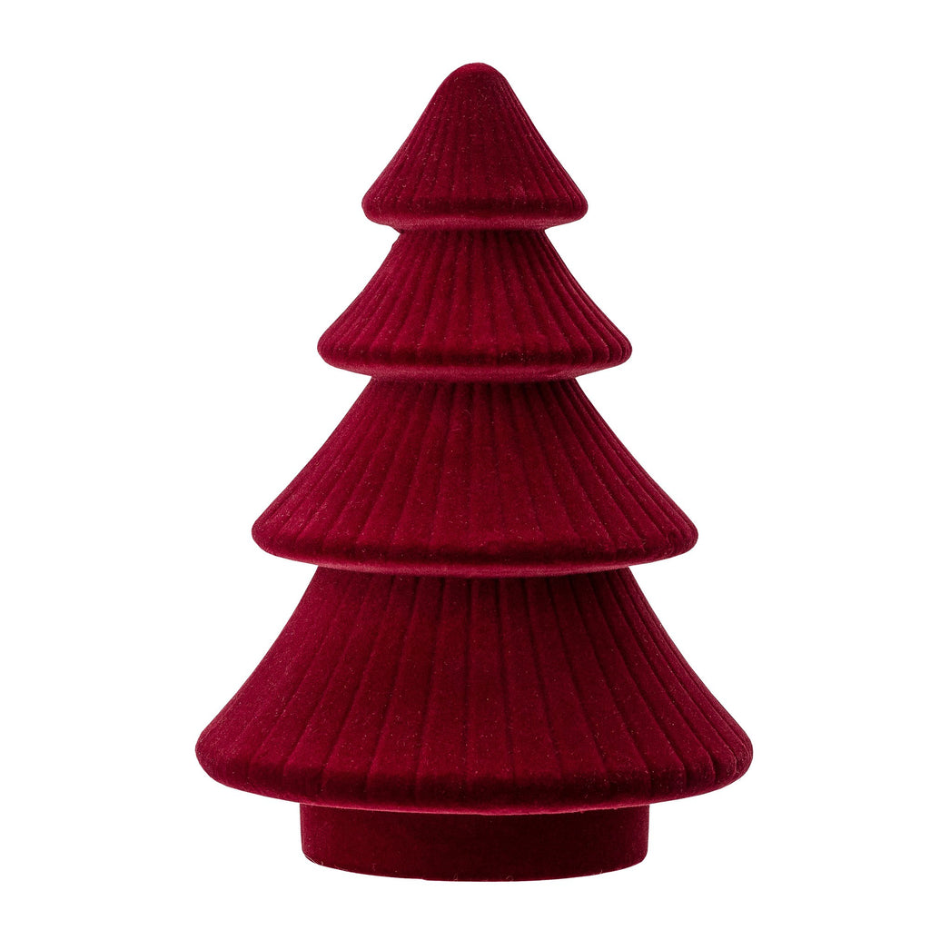 Christmas Tree Ornament - Red