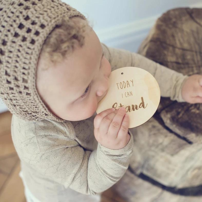 Nutmeg Bonnet - Fawn from Gooseberry Fool | Otis and the Wolf - Scandinavian style for little ones and the modern nursery