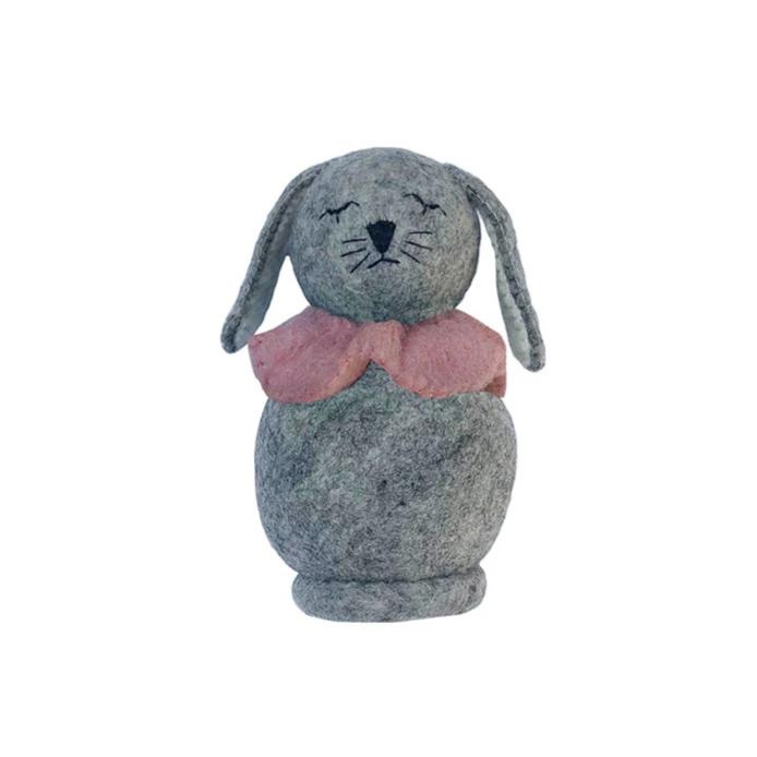 Gamcha Rabbit, dusty pink. Otis and The Wolf - Scandinavian inspired design, toys and clothing for mamma, babies, toddlers, children and the modern nursery