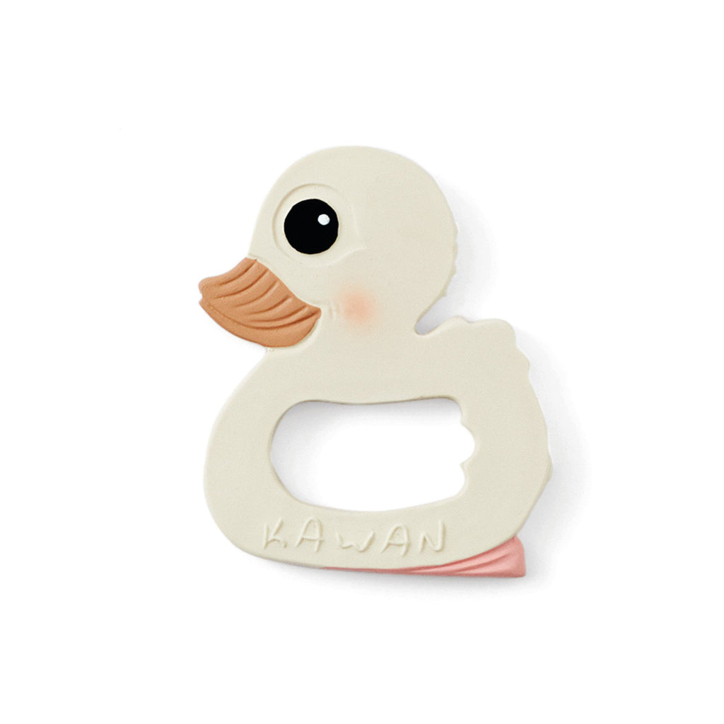 Hevea Kawan Natural Rubber Duck Teether Toy. Otis and The Wolf - Scandinavian inspired design, toys, clothing and essentials for babies, children and the modern nursery