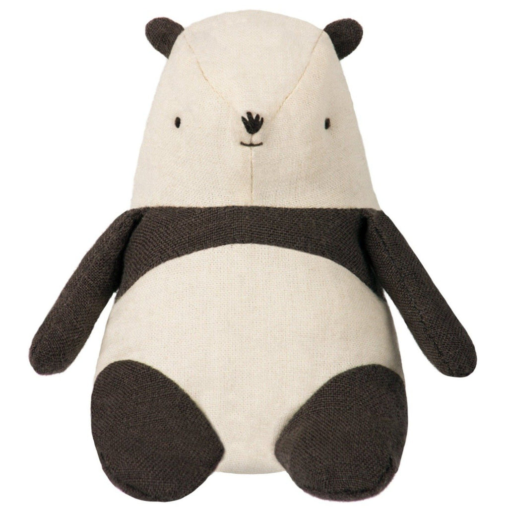 Mini Panda from Maileg - a super-soft and super-cute panda soft toy from Danish toy brand Maileg. Otis and teh Wolf - bringing you Scandi style for little ones