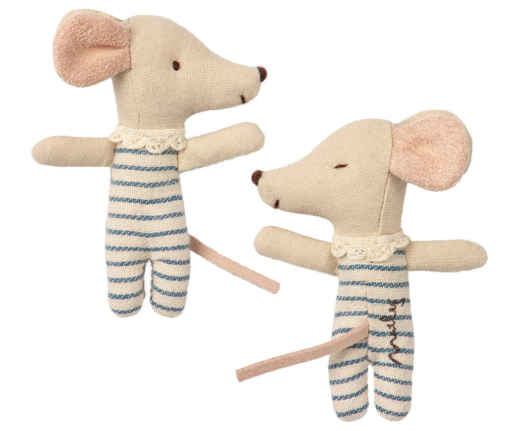 baby Mouse boy - sleepy/wakey - in a cite little handmade matchbox from Maileg. Otis and the Wolf - bringing you scandi style for little ones